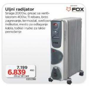 Uljni radijator