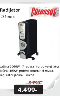 Radijator CSS-6614
