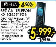 Bežični telefon KX-TG8551FXB