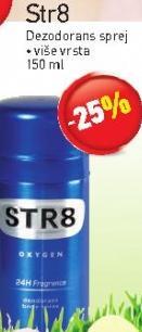 Str8 dezodorans sprej