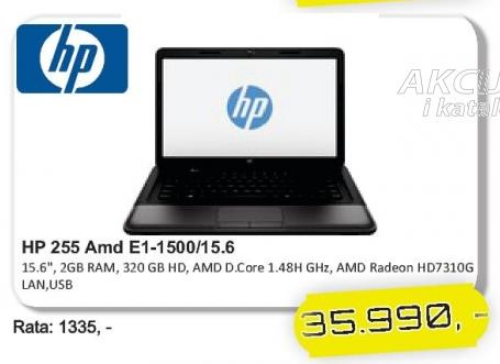 Laptop 255 Amd E1-1500/15,6