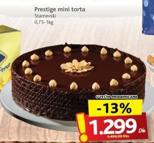 Torta prestige mini