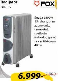 Uljani radijator OH15V