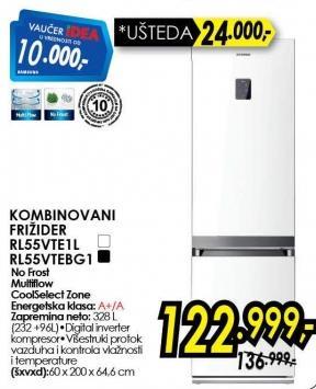 Kombinovani frižider Rl55vtebg1