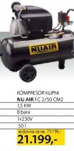 Kompresor Fc 2/50 Cm2 Nu Air