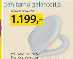 Daska za WC šolju Arena C2