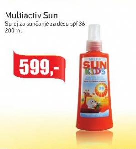 Sprej za sunčanje SPF36