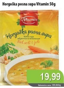 Supa Horgoška posna