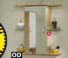 Zidni ormarić sa ogledalom