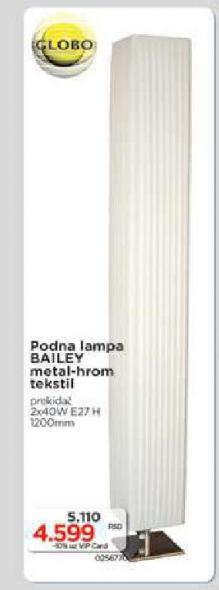 Podna lampa Bailey