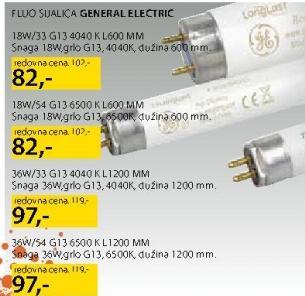 Fluo Sijalica 18W/54 G13 General Electric