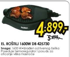 Električni Roštilj DB 425730