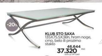 Klub sto SAXA