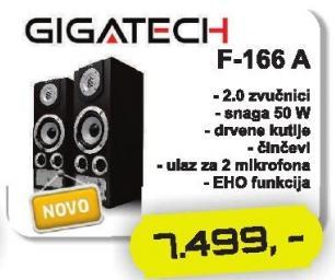 Zvučnici 2.0 F-166 A
