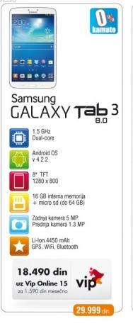 Tablet Galaxy Tab 3 8.0