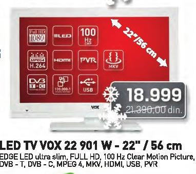 Televizor LED LCD 22 901 W