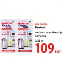Denkmit, Sredstvo za otklanjanje kamenca
