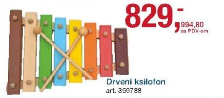Drveni ksilofon