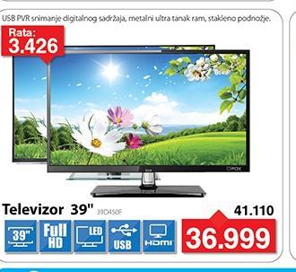 """Televizor TV 39"""" LED 39D450F"""