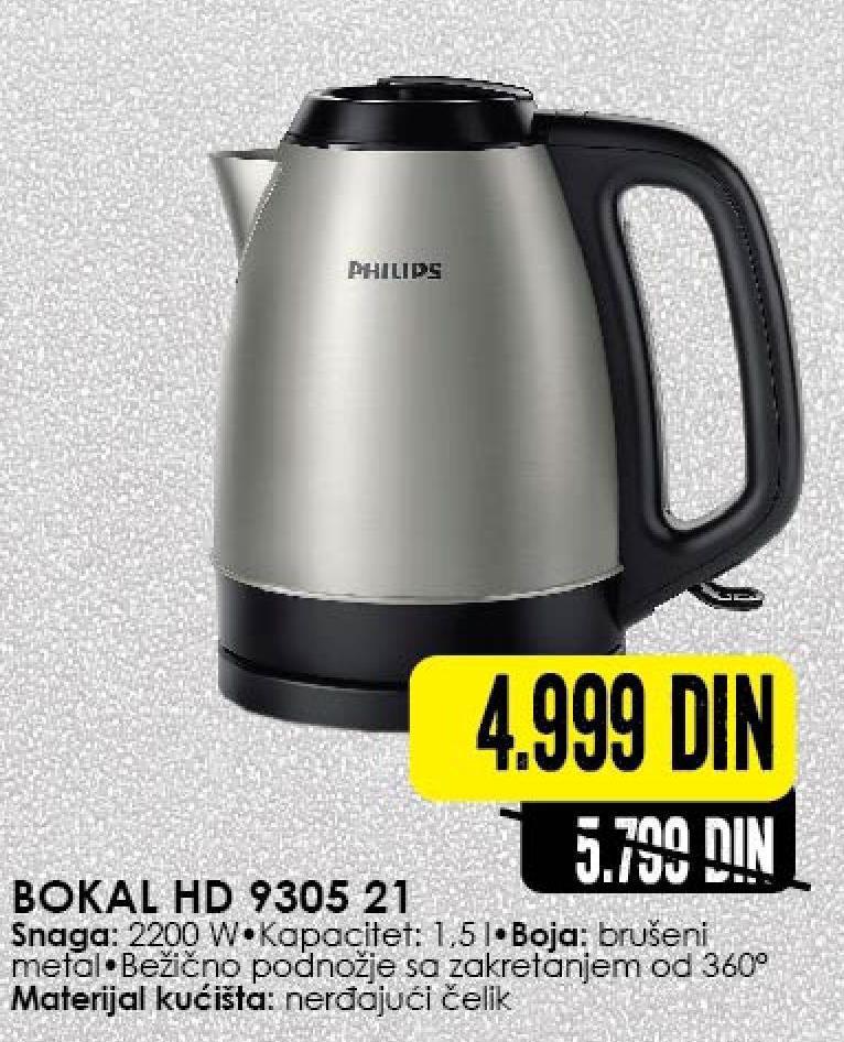 Električni bokal HD 9305/21