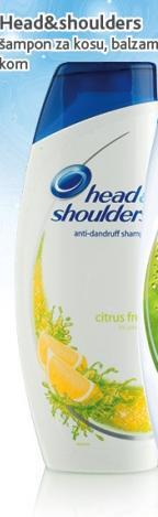 Šampon za kosu citrus fresh
