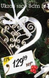 Novogodišnji ukras srce