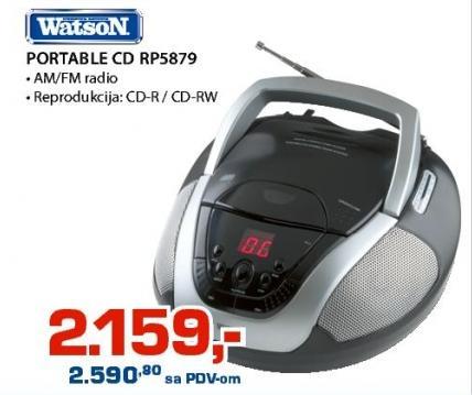 Portabl Cd Rp5879 Watson