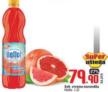 Sok crvena narandža