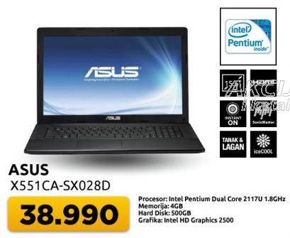 Laptop X551ca-sx028d