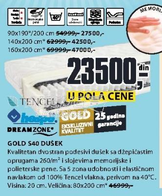Dušek Gold S40
