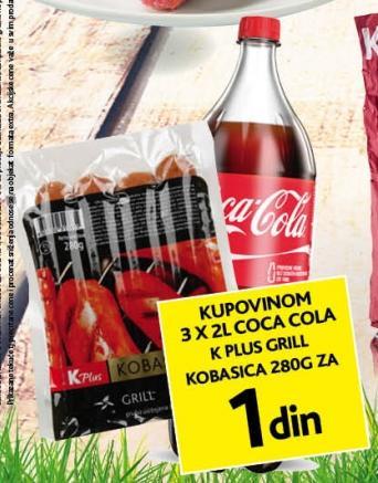 Grill kobasica za 1 dinar!