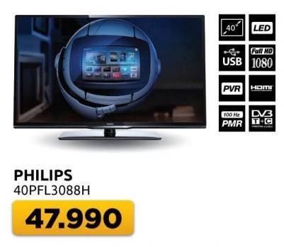 "Televizor LED 40"" 40pfl3088h"