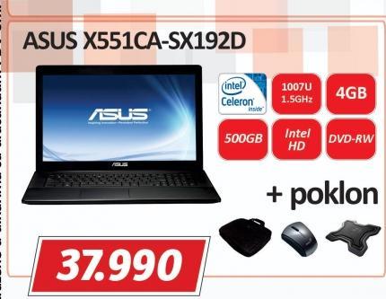 Laptop X551CA-SX192D