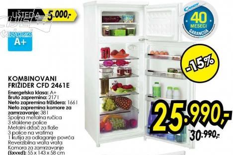 Kombinovani frižider Cfd 2461e