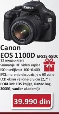 Digitalni Fotoaparat Eos1100D