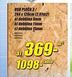 OSB ploča 3