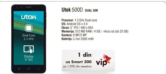 Mobilni telefon 500D