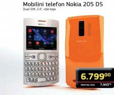 Mobilni telefon Nokia 205 DS