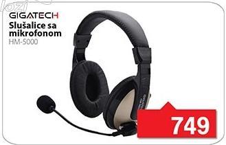 Slušalice sa mikrofonom Hm-5000