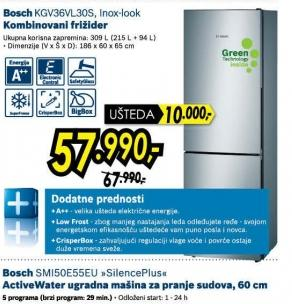 Kombinovani frižider Kgv36vl30s