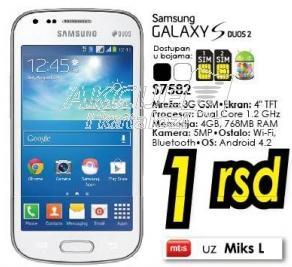 Mobilni telefon Galaxy S Duos 2 S7582
