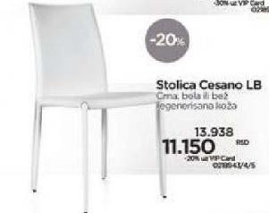 Stolica Cesano Lb