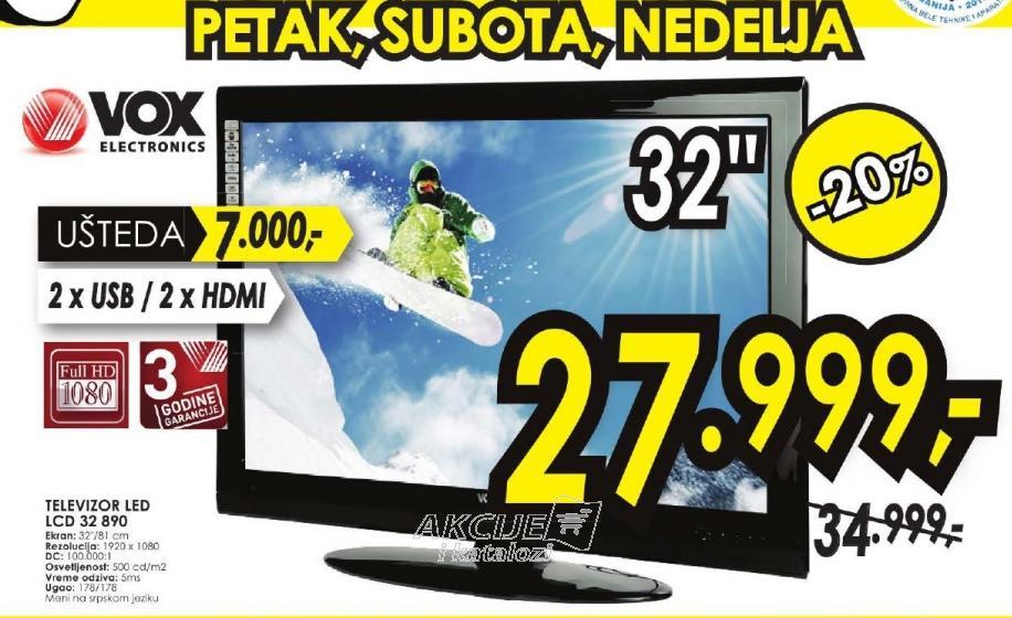 "Televizor LED 32"" 32890"