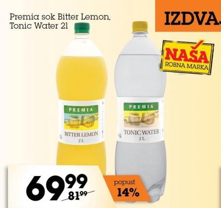 Gazirani sok Bitter Lemon