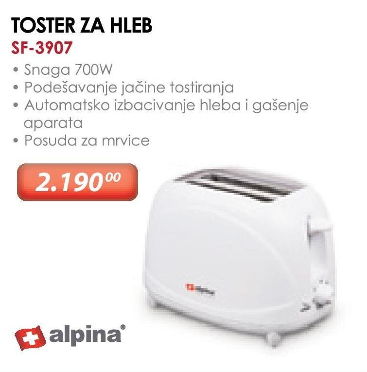 Toster SF-3907