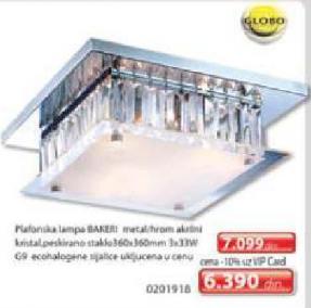 Plafonska lampa BAKERI