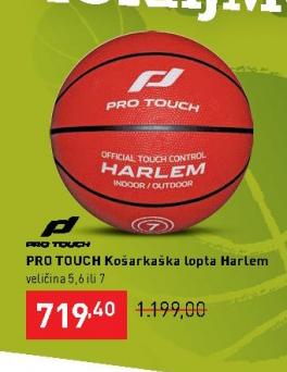 Košarkaška lopta Harlem, Pro Touch