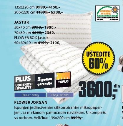 Jastuk Flower Box