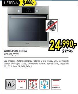 Ugradna rerna Akp565/ix/01