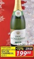 Belo vino Duc De Sharmeuil